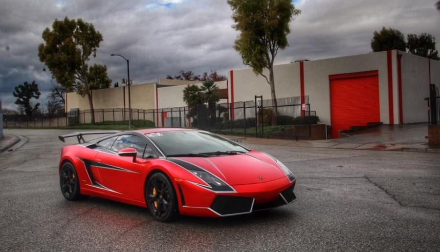 Lamborghini Gallardo LP550-2 DeadPool by Impressive Wrap on NS2 Media Wheels